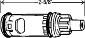 MOEN 2-Handle Cartridge